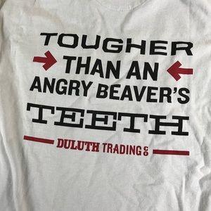 Deluth Trading Company Beaver Graphic Tee Shirt B